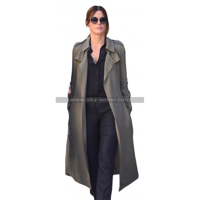 Oceans Eight Sandra Bullock Cotton Fur Coat