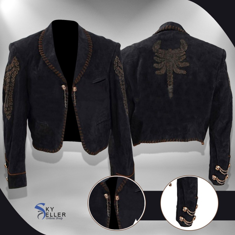 5508111f53a Once Upon A Time In Mexico Antonio Banderas (El Mariachi) Jacket