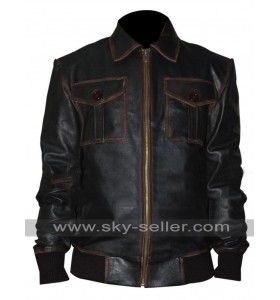 Once Upon a Time Sheriff Graham (Jamie Dornan) Leather Jacket