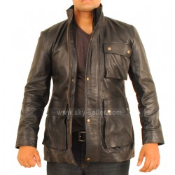 Star Trek Into Darkness Chris Pine (James T. Kirk) Leather Jacket