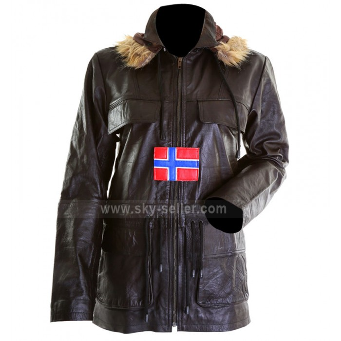 Swedish Bomber Classic Leather Jacket