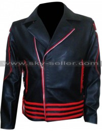 Freddie Mercury 1985 Sydney Concert Black & Red Jacket