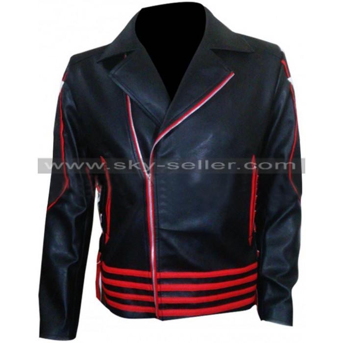 Freddie Mercury 1985 Sydney Concert Black & Red Jacket