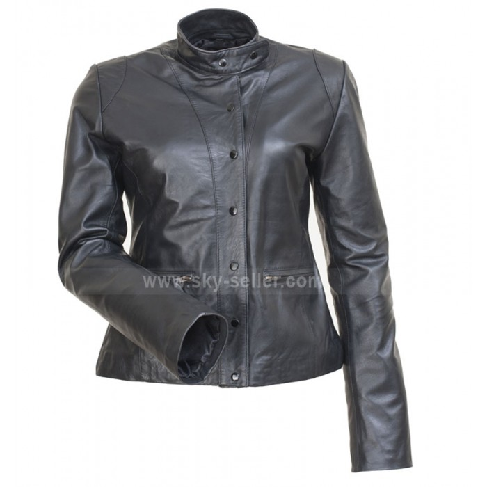 The Mentalist Teresa Lisbon (Robin Tunney) Black Jacket