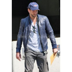The A-Team Bradley Cooper (Templeton Peck) Blue Jacket
