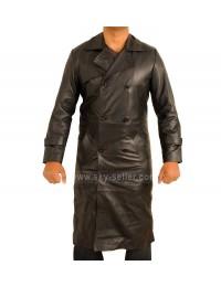 Total Recall Colin Farrell Black Trench Coat