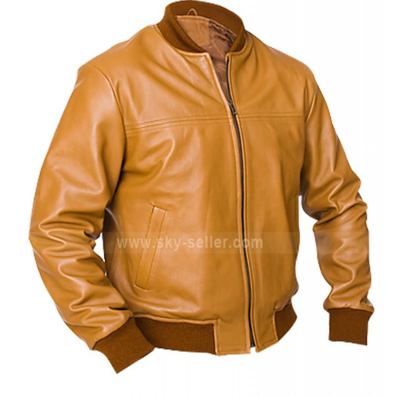 Vintage Cameler Brown Leather Jacket