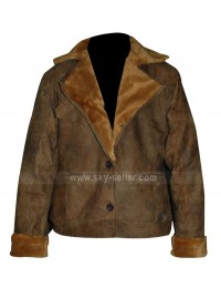 Women's Ugg Alpine Distressed Flight Bomber Jacket
