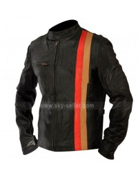 X-Men Last Stand Scott Cyclops Motorcycle Leather Jacket