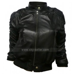 Elena Gilbert Vampire Diaries Leather Jacket