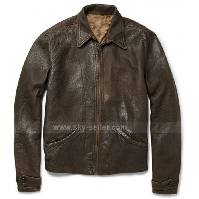 Skyfall Daniel Craig (James Bond) Vintage Brown Jacket