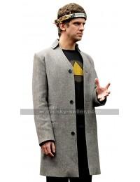 David Haller Legion Dan Stevens Grey Wool Coat