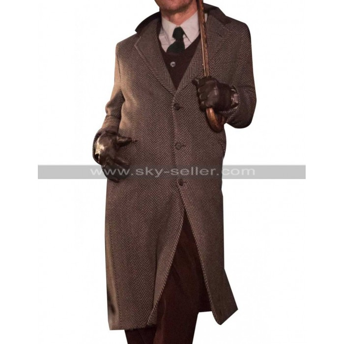 The Gentlemen Matthew McConaughey Wool Grey Coat