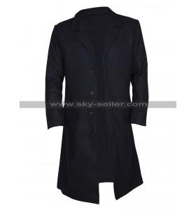 Keanu Reeves John Constantine Black Cotton Trench Coat
