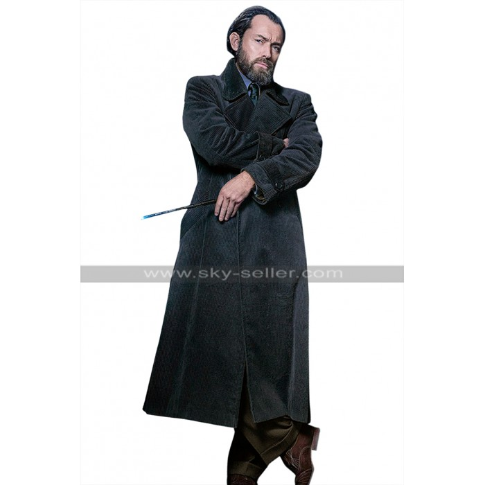 Albus Dumbledore Fantastic Beasts 2 The Crimes of Grindelwald Jude Law Coat