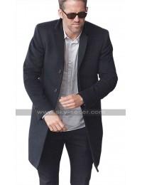 Ryan Reynolds The Hitmans Bodyguard Michael Bryce Black Wool Trench Coat