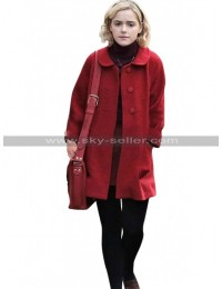 Kiernan Shipka Chilling Adventures of Sabrina Spellman Red Wool Coat