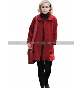 Kiernan Shipka Chilling Adventures of Sabrina Spellman Red Wool Coat