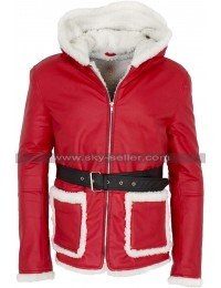 Father Christmas Santa Claus Red Jacket