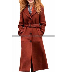 Nicole Kidman The Undoing Brown Coat