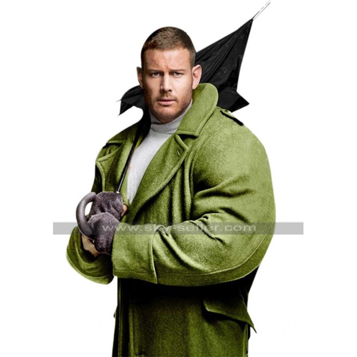 Tom Hopper The Umbrella Academy Luther Green Wool Trench Coat