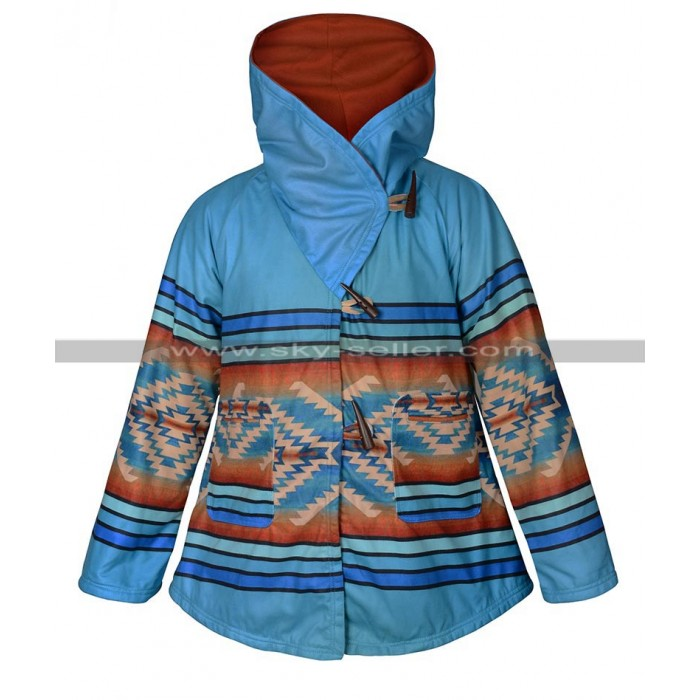 Yellowstone (Kelly Reilly) Hooded Semi-cloak Coat