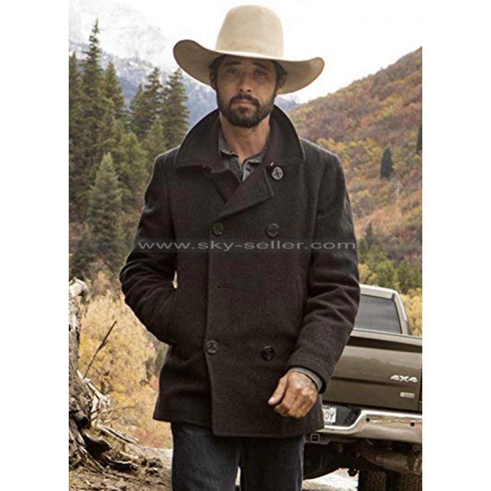 Ryan Bingham Yellowstone Walker Wool Coat