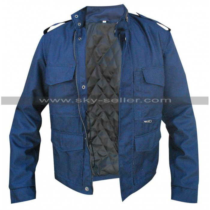 Aloha Bradley Cooper (Brian Gilcrest) Military Jacket