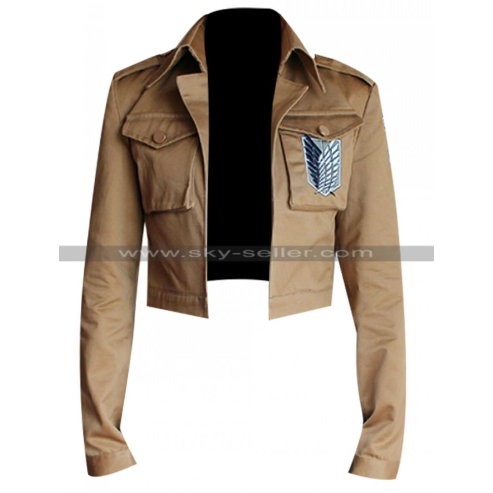 attack on titan shingeki no kyojin military jacket. Black Bedroom Furniture Sets. Home Design Ideas