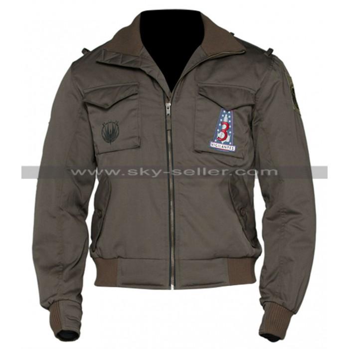 Battlestar Galactica Apollo Adama (Jamie Bamber) Bomber Jacket