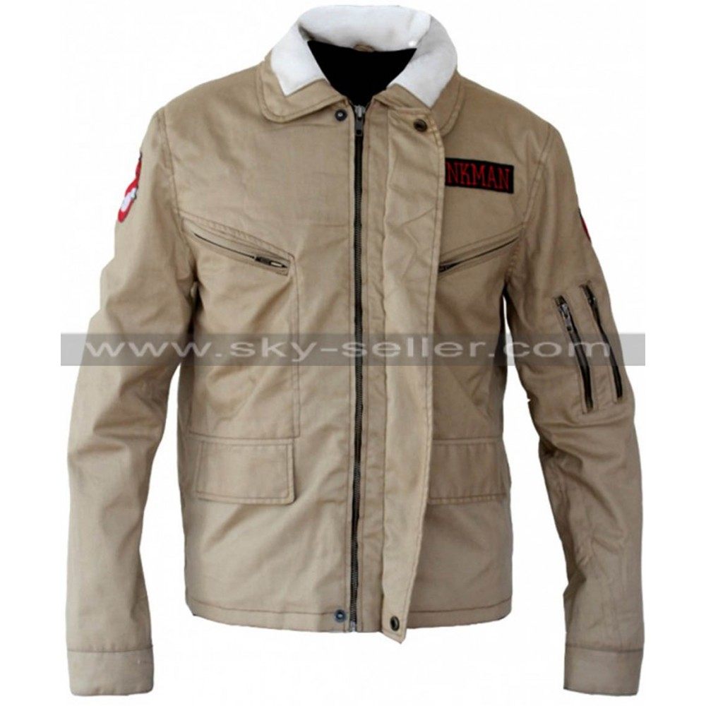 Bill Murray Ghostbusters (Peter Venkman) Biege Jacket