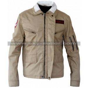 Bill Murray Ghostbusters (Peter Venkman) Biege Jacket