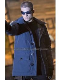 Captain Cold Legends of Tomorrow Fur Hoodie Coat