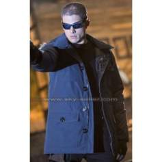 Captain Cold Legends of Tomorrow Fur Hoodie Coat