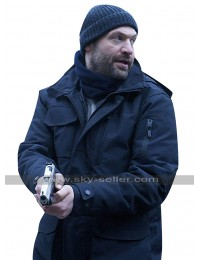 The Strain Ephraim Goodweather (Corey Stoll) Black Hooded Cotton Jacket