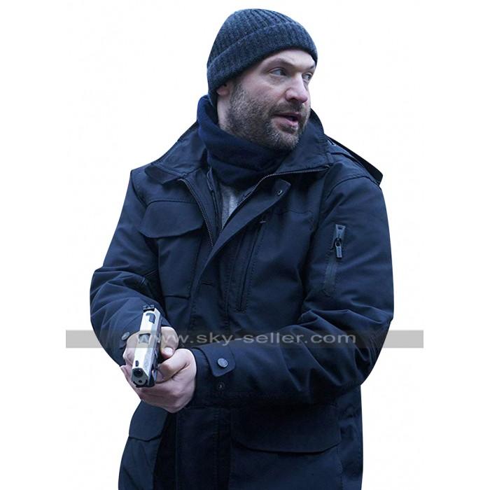The Strain Ephraim Goodweather (Corey Stoll) Black Hooded Cotton Jacket