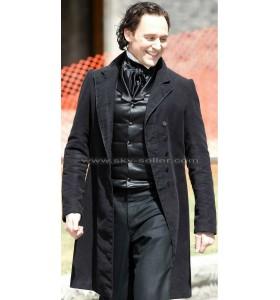 Crimson Peak Tom Hiddleston (Thomas Sharpe) Black Coat