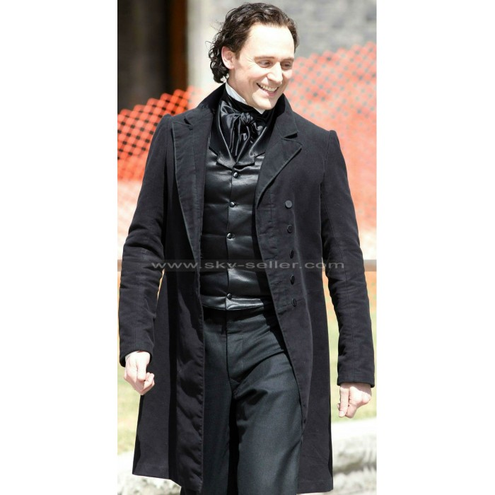 Crimson Peak Tom Hiddleston (Thomas Sharpe) Black Coat