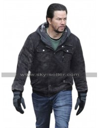 Mark Wahlberg Daddys Home 2 Dusty Black Cotton Jacket