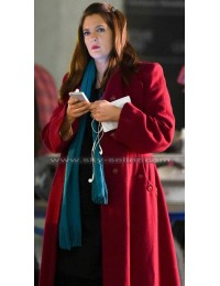 Drew Barrymore Miss You Already Jess Red Trench Coat