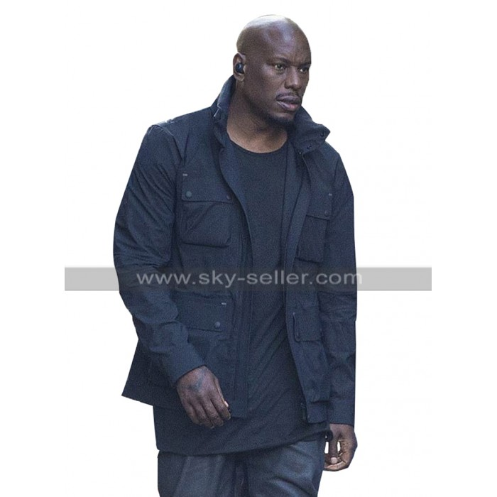 Tyrese Gibson Fast and Furious 9 2020 F9 Black Cotton Jacket