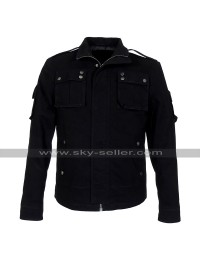 Luke Evans Fast & Furious 6 Owen Shaw Black Cotton Jacket