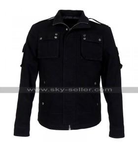 Luke Evans Fast & Furious 6 Owen Shaw Black Cotton Jacket