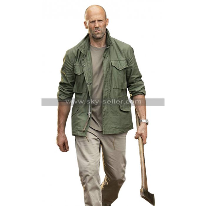 Jason Statham Fast & Furious Presents Hobbs & Shaw Green Cotton Jacket