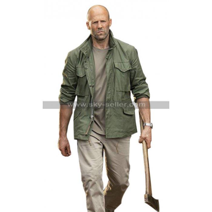 Jason Statham Fast & Furious Presents Hobbs & Shaw Green Cotton Jacket