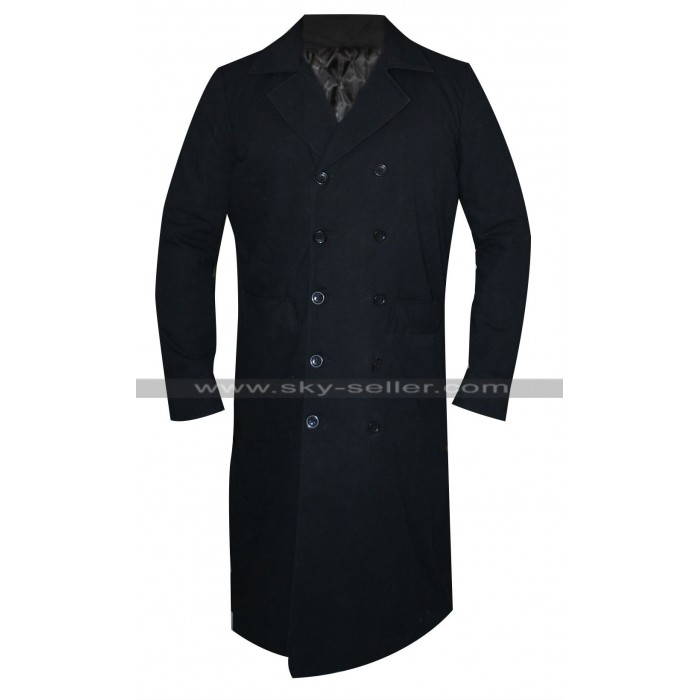 Gary King Worlds End Simon Pegg Black Trench Coat