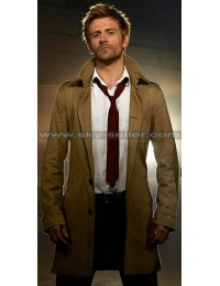 John Constantine Matt Ryan Trench Coat