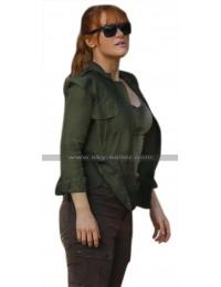 Jurassic World Fallen Kingdom Claire Dearing (Bryce Dallas Howard) Green Cotton Jacket