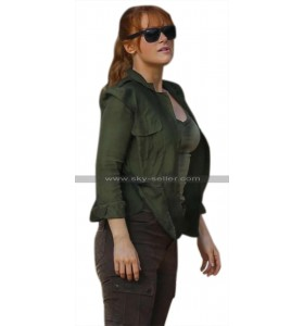 Jurassic World Fallen Kingdom Claire Dearing (Bryce Dallas Howard) Green Cotton Jacket