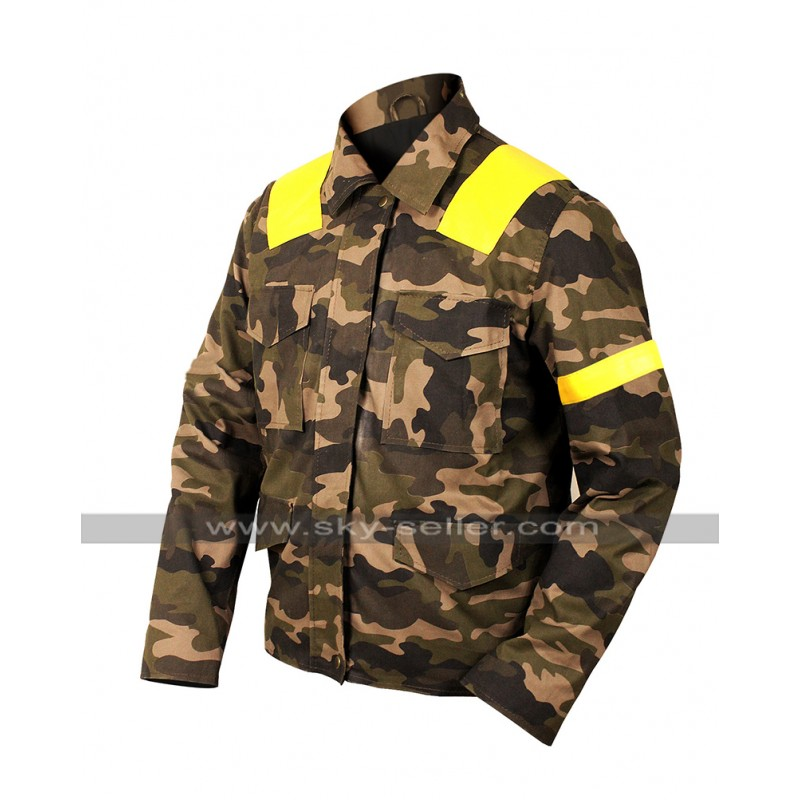 eb7e0b11d53 Twenty One 21 Pilots Tyler Joseph Levitate Trench Camouflage Cotton Jacket